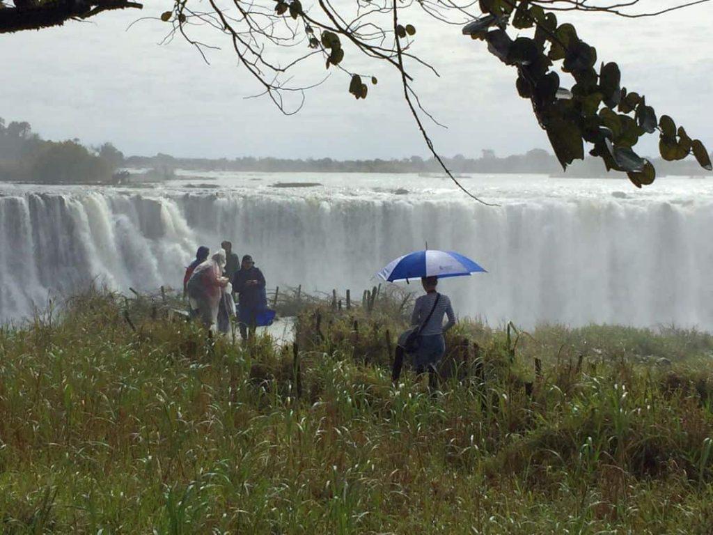 Victoria Wasserfälle, Simbabwe 2018
