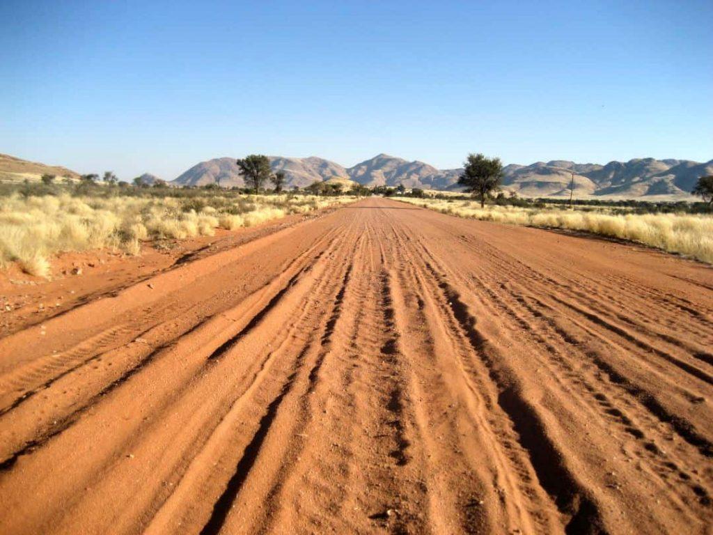 Wege durch die Wüste. Namibia 2008