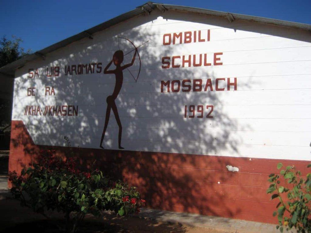 Ombili School. Namibia 2008