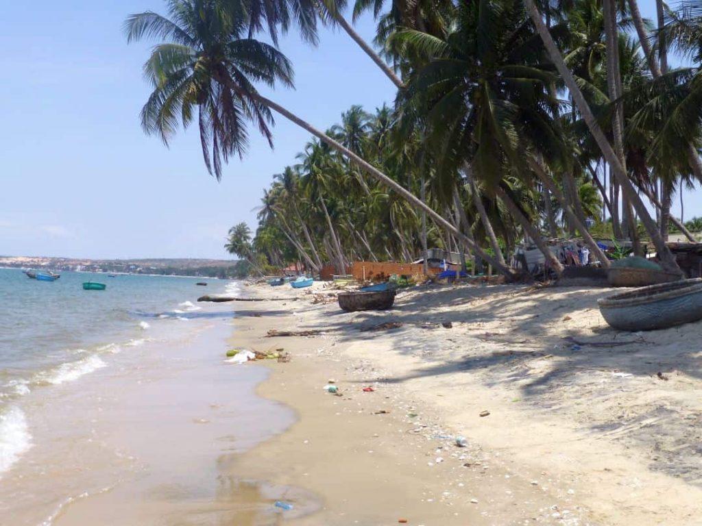 Vietnam Strand Mui Ne am südchinesischen Meer. 2014