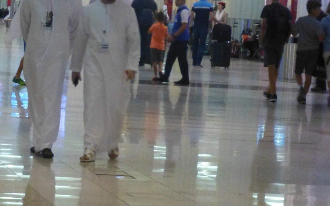 Reise in den Mittleren Osten, Dubai, Vereinigte Arabische Emirate, 2018